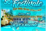 36º Festivale – Festival de Cultura Popular no Vale do Jequitinhonha.